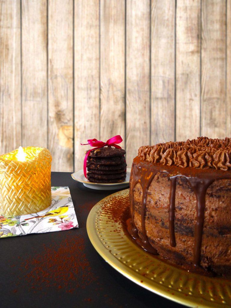 Schoko-Ganache-Drip-Cake
