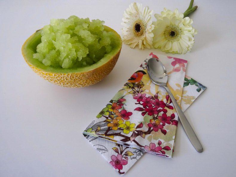 YAY – It's frICEday: Melonen-Granita