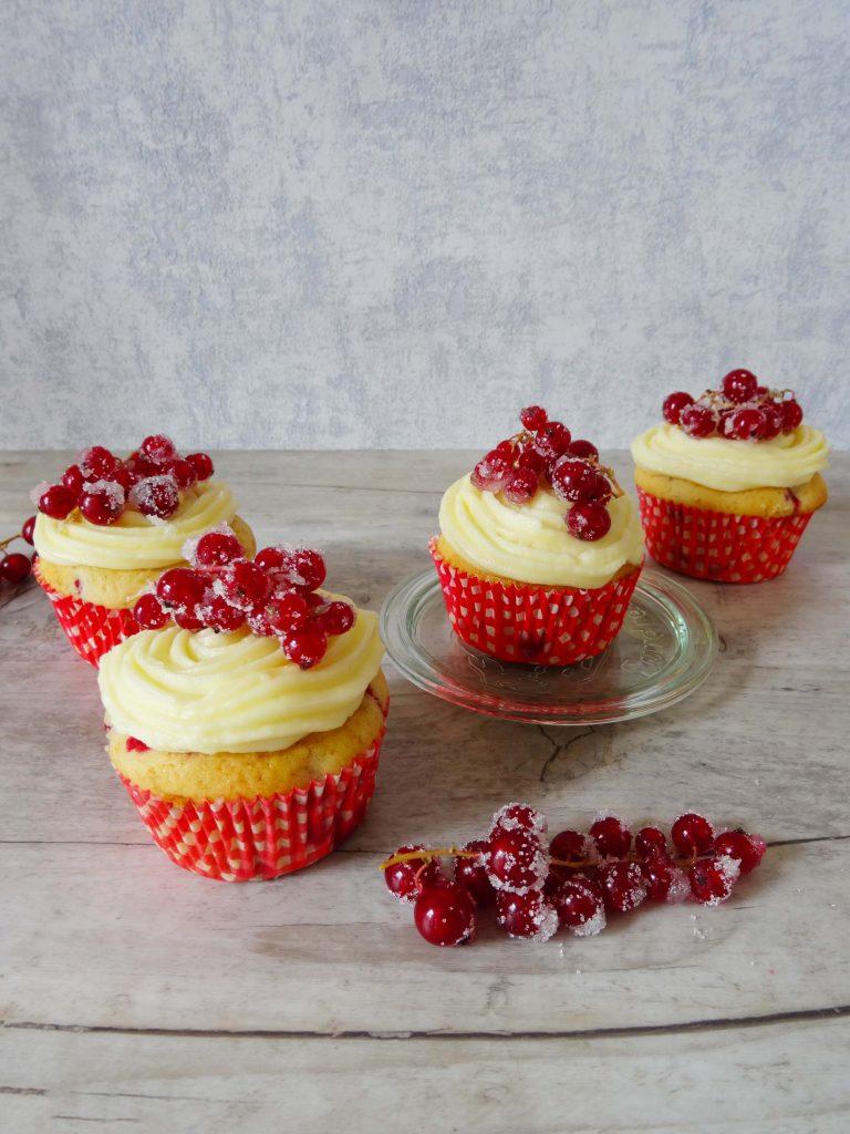 Johannisbeercupcakes