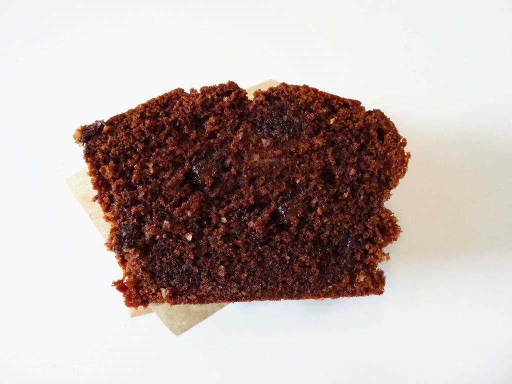 Schokoladenkuchen mit Schokostücken