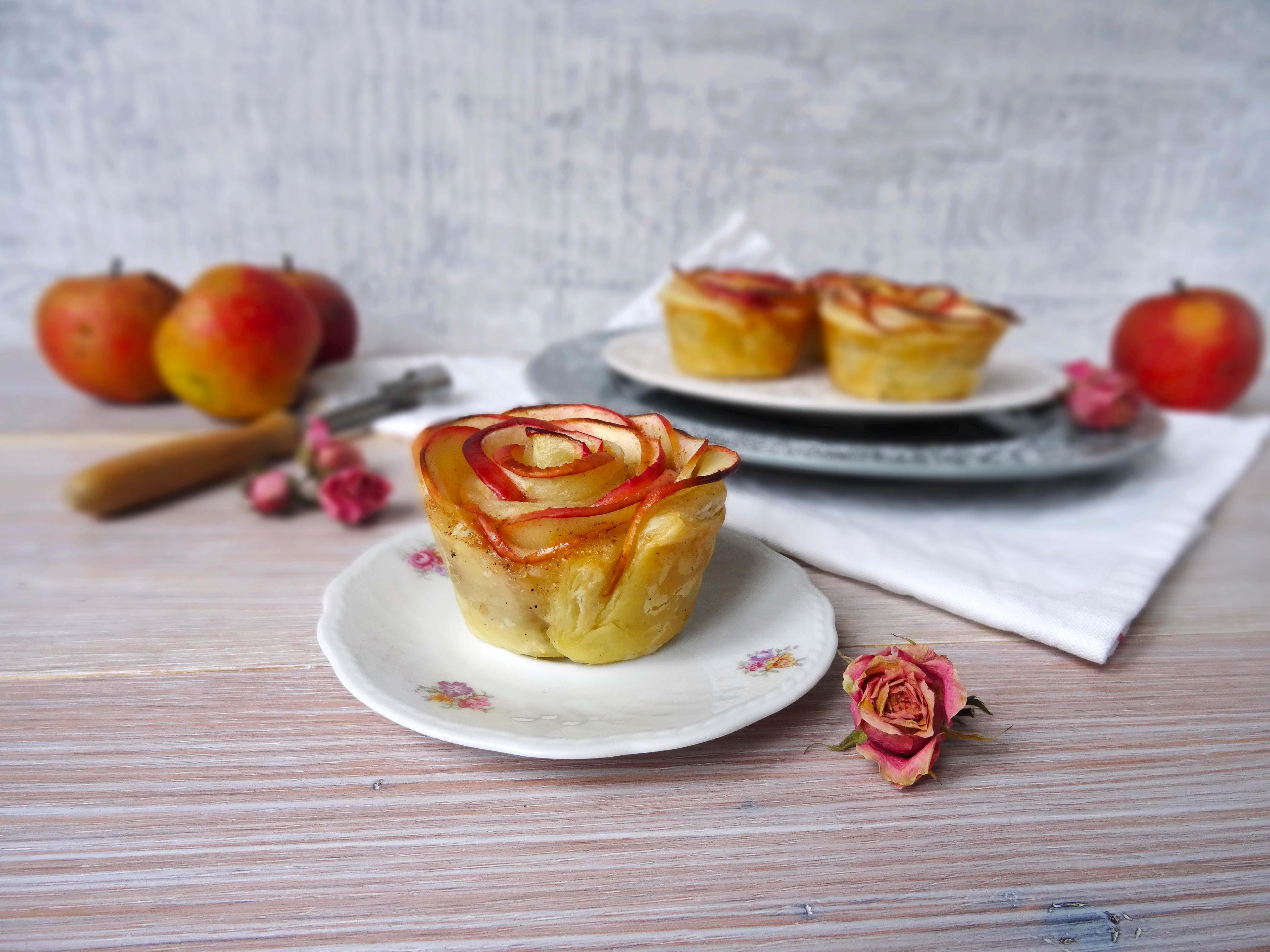 Herbstliche Apfelröschen