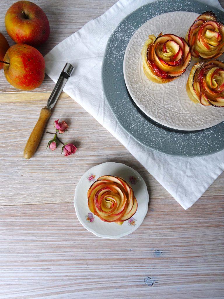 Leckere Apfelrosen